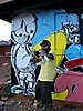 Graffiti artist Julio Perez, GumptionFest I