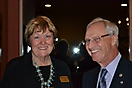 Claudia Ault and Harold Olson Enjoying the New Member Recruiting Event