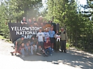 At Yellowstone National Park